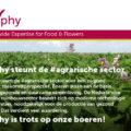 Delphy is trots op onze boeren